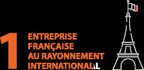 1 entreprise Française au rayonnement international